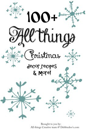 All things Creative Christmas with 100+ decor and recipe ideas.