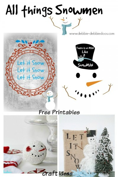 All things Snowmen