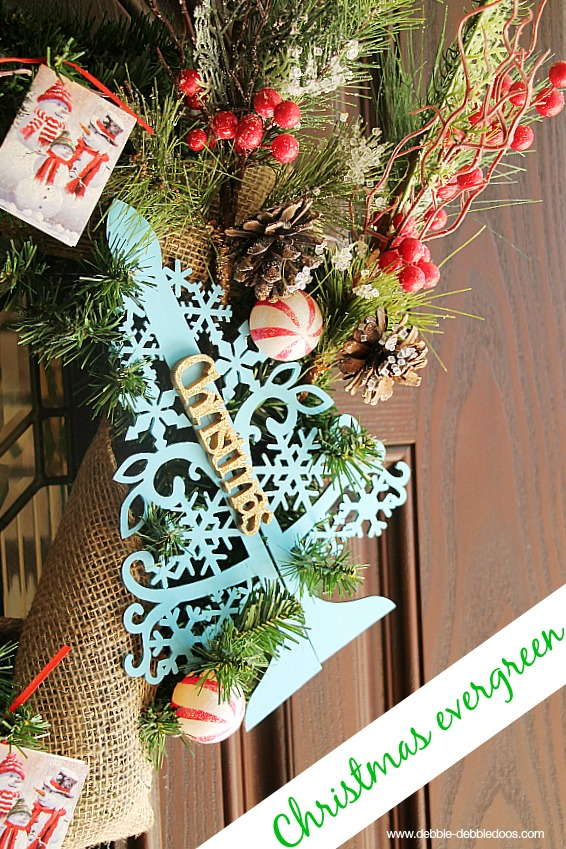 Christmas wreath Classic evergreen