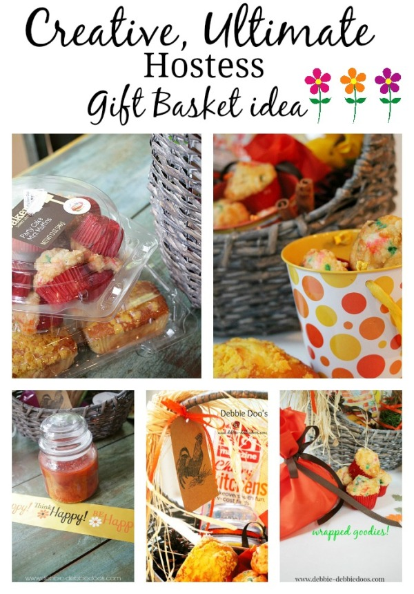Creative ultimate hostess gift basket idea