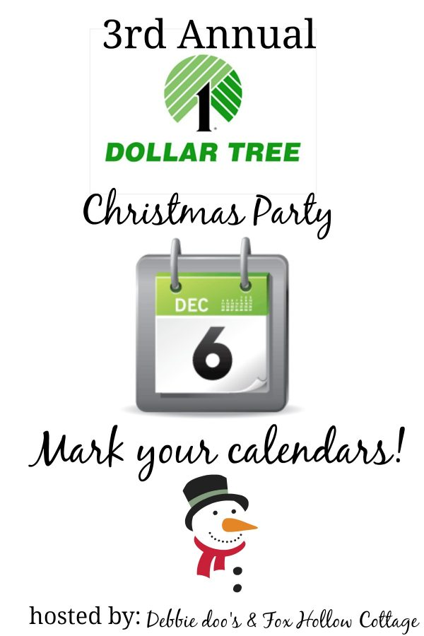 Dollar tree 3rd Annual Christmas party