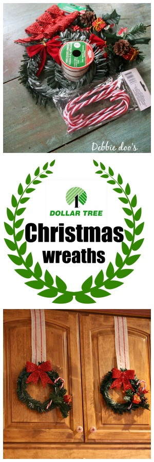 Dollar tree Christmas wreath ideas