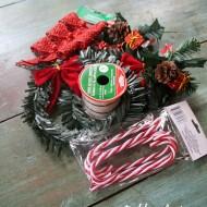 Dollar tree Christmas wreaths
