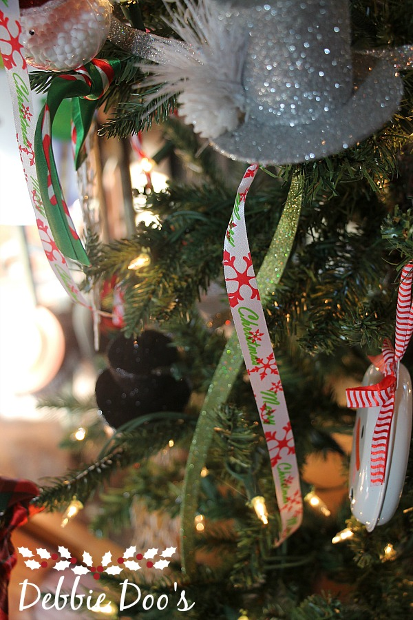 Dollar tree ribbon tree decorating ideas
