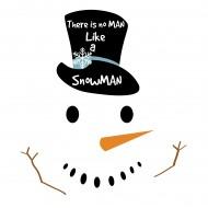 No man like a snowman