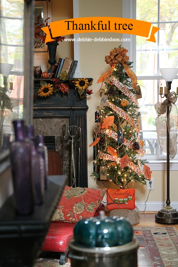 I have found most all my decor at the dollar tree. You can create a festive  and fun fall tree spending less than $20.00.