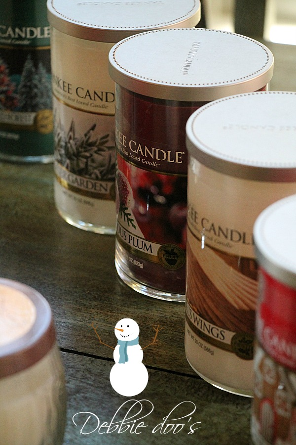 Yankee candel Holiday collection