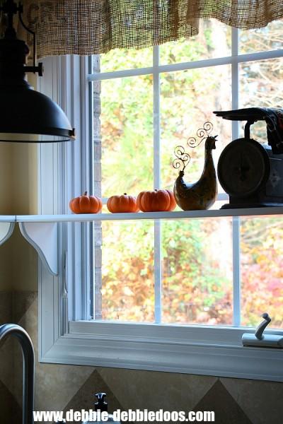 corner window diy shelves