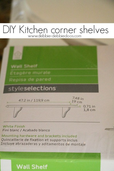 diy kitchen corner window shelves