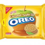 Caramel apple Oreo dessert cake