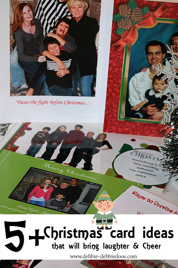 5+ funny Christmas greeting card ideas - Debbiedoos