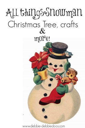 All things Snowman Christmas decor