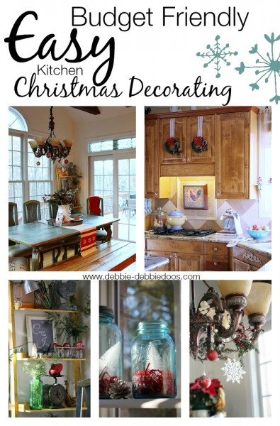 Easy Budget Friendly Spring Decorating: Easy Christmas Decorating Ideas For The Kitchen