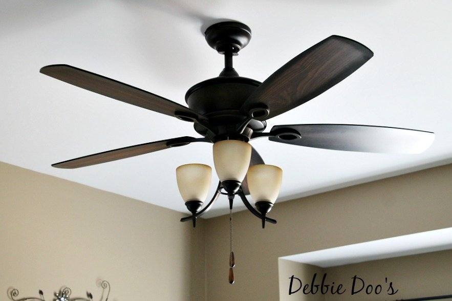 Stylish ceiling fan