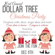 3rd Annual All things Dollar tree Christmas party
