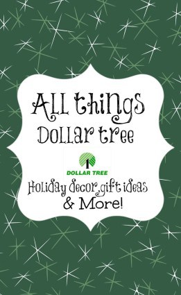 dollar tree christmas decor and craft ideas