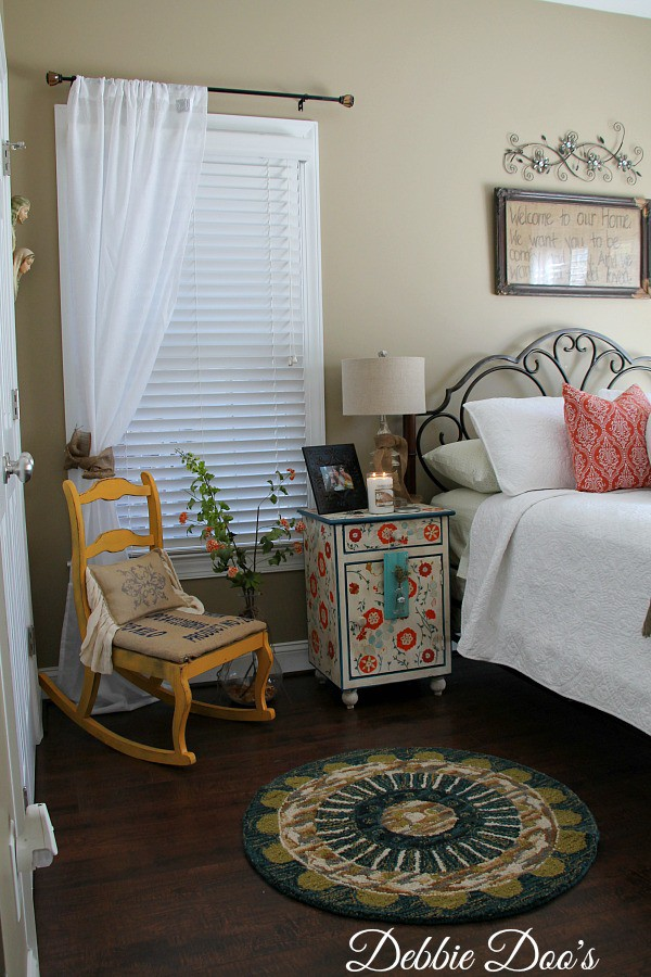 guest bedroom makeover from home goods