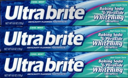 ultrabrite tooth paste from dollar tree