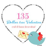 Anything for a Dollar Valentine's party