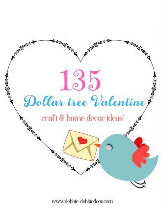 Dollar Tree Valentines day ideas