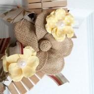 Clothes pin rag wreath