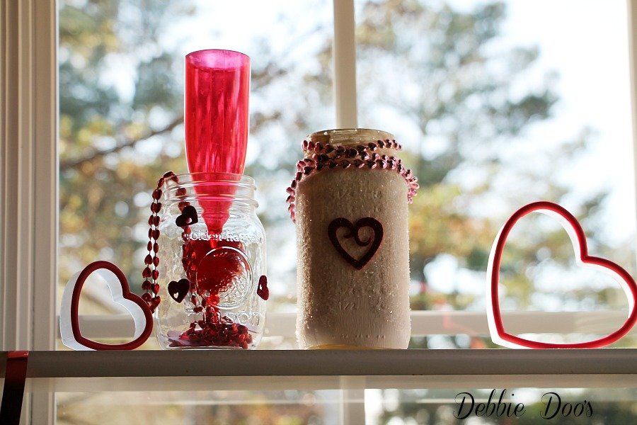 Dollar tree Valentine decor