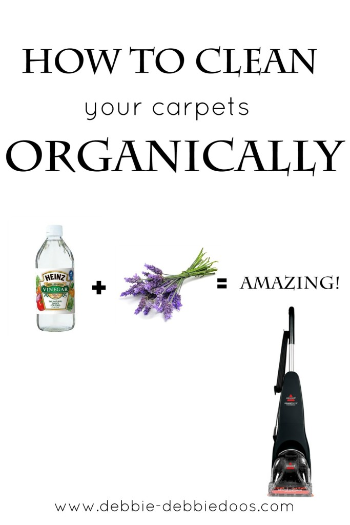 How to clean your carpets organically