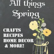 How to decorate, bake and create for Spring