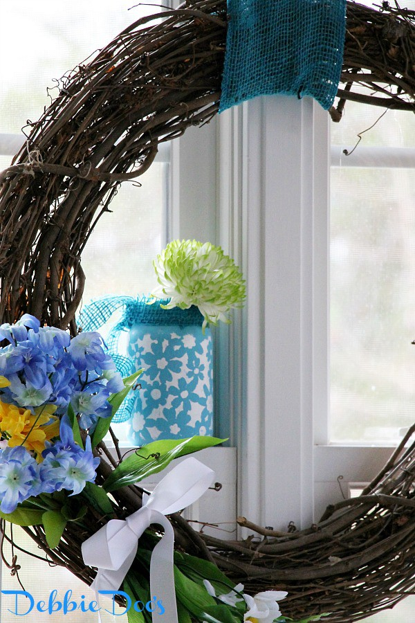 Cheery Spring windows