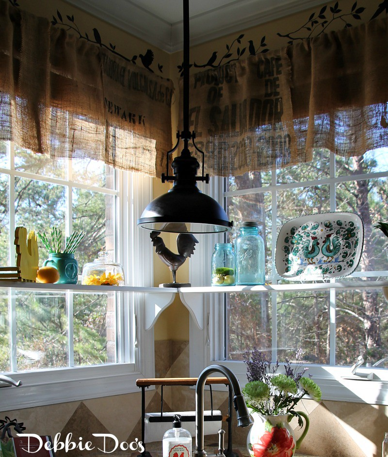 County french kitchen windows