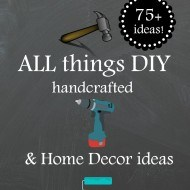 All things DIY and handcrafted ideas