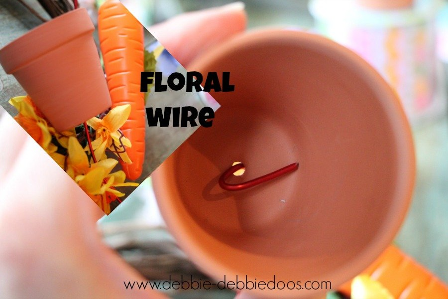 Floral wire from dollar tree