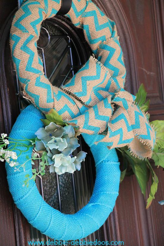 burlap bunny wreath 007