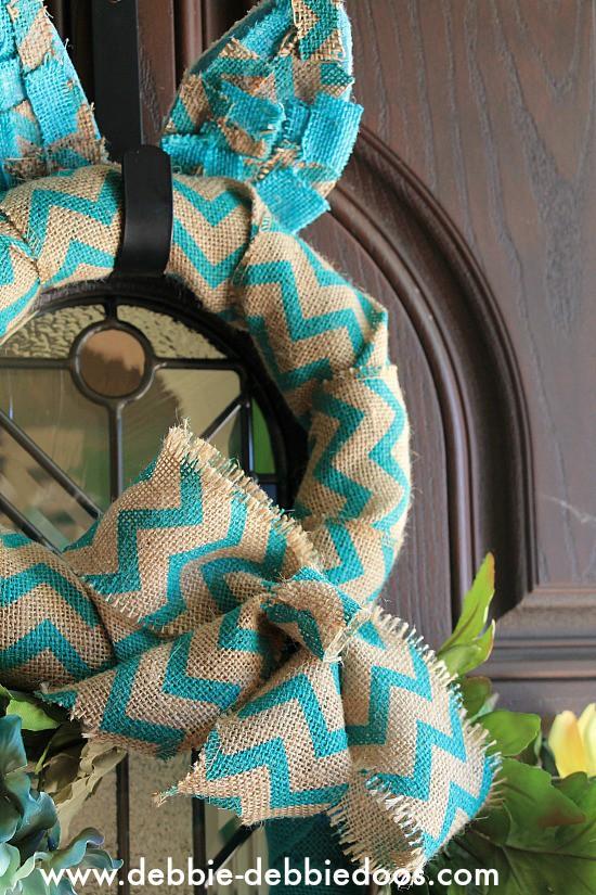 burlap bunny wreath 011