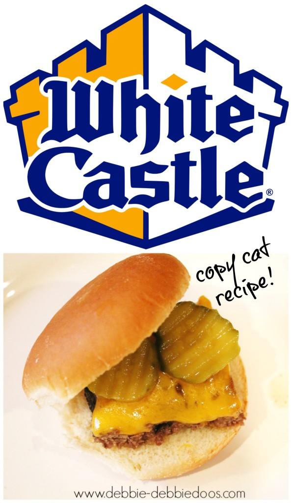 copy cat white castle recipe