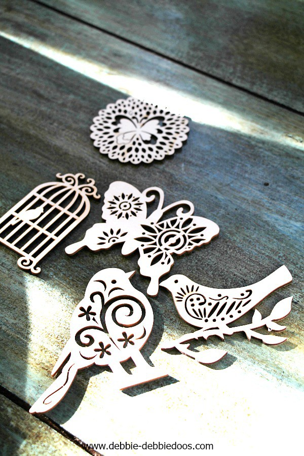 wood cut outs for Spring