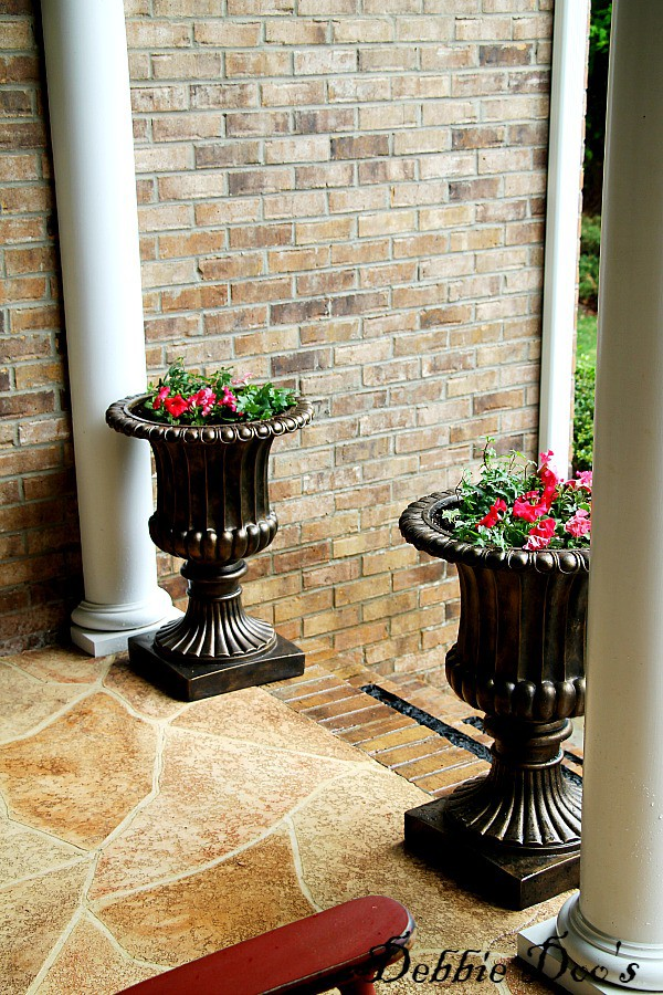 Balsam Hill urns tuscan style