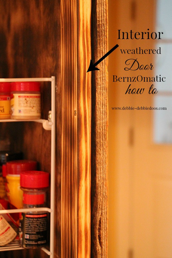 How to weather wood with BernzOmatic