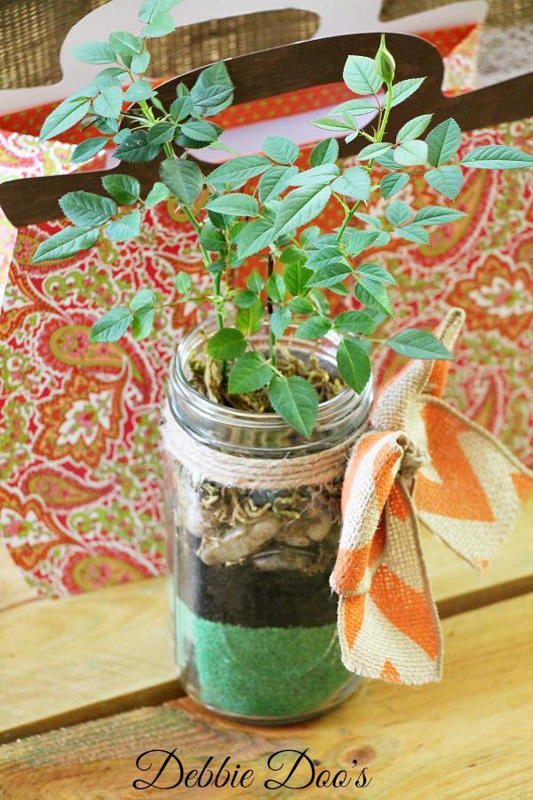 Mother's day mason jar gift idea