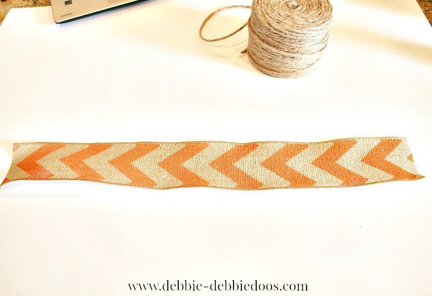 how to make a burlap bow the easy way
