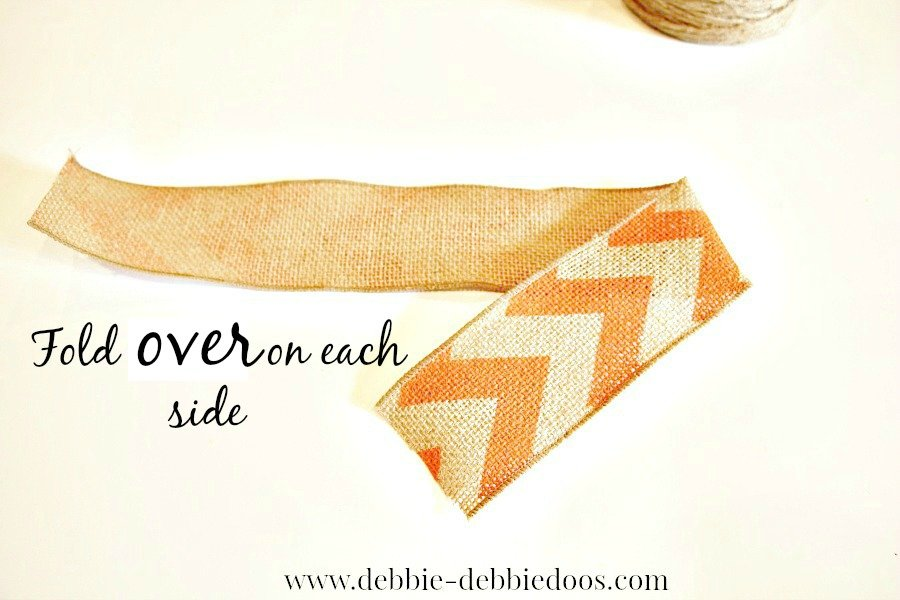 how to tie a burlap bow quick and easy method