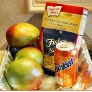 Afternoon delight Mango island cake