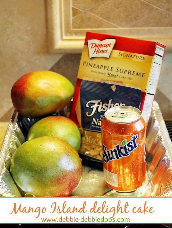 mango island delight cake