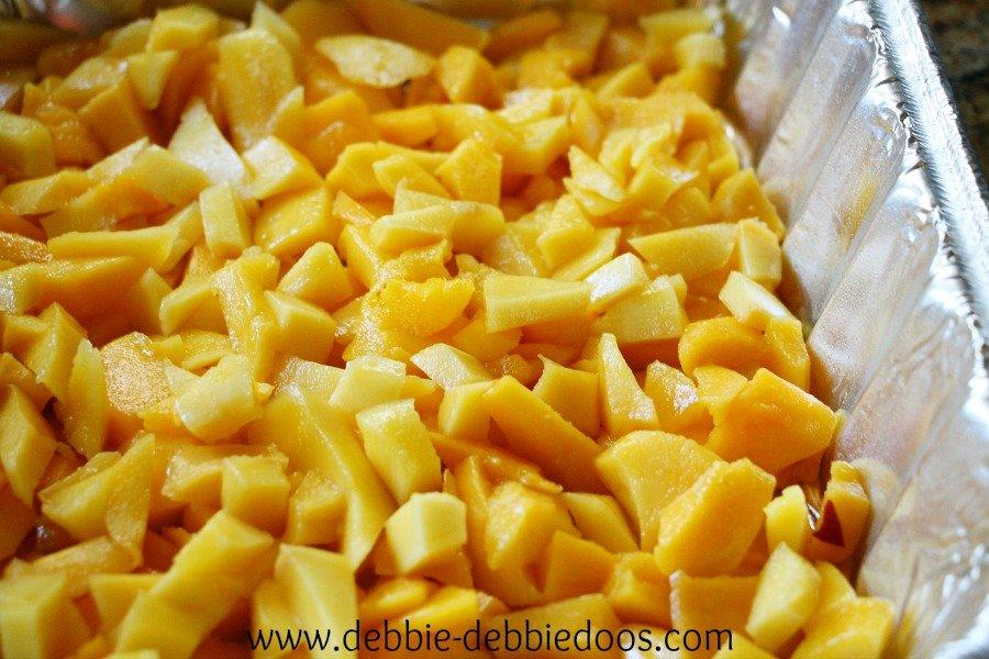 mangos diced