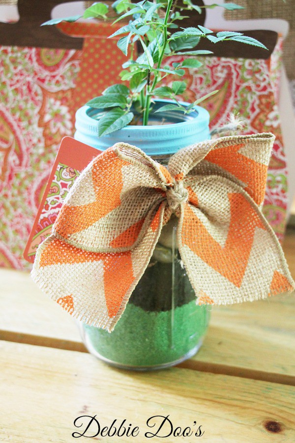 mason jar gift idea for Mother's