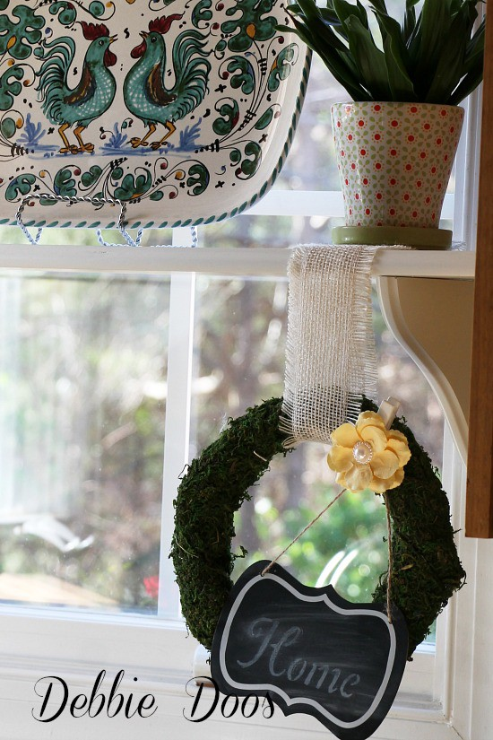 moss wreath ideas