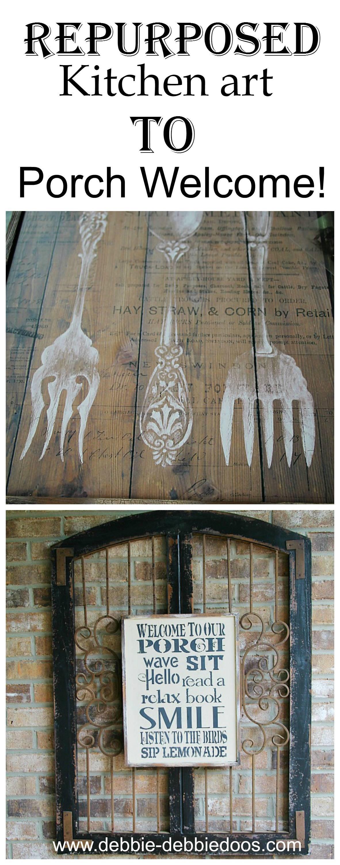 Kitchen Art Kitchen Art Gone To The Porch Debbiedoos
