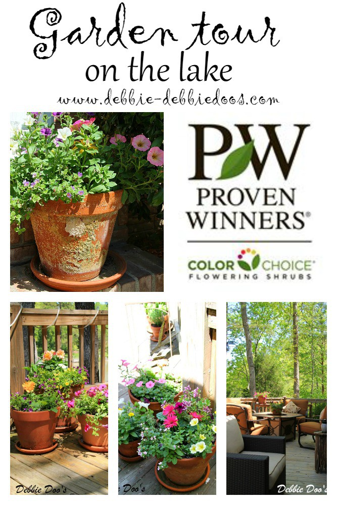 Lake Wylie home and garden tour - Debbiedoos