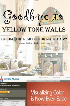 How to pick the right wall color made easy with the Sherwin Williams visualizer