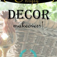 Thrifty decor makeovers